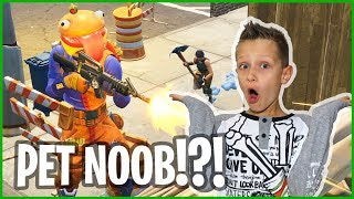 HOW IT IS LIKE TO HAVE A PET NOOB!