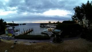 Dove Creek Lodge Timelapse Key Largo 2013