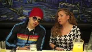 J Alvarez entrevista in London with URBAN FLOW