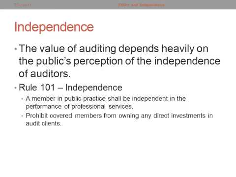 auditor s independence Start studying audit independence learn vocabulary, terms, and more with flashcards, games, and other study tools.