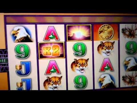Buffalo Slot  HUGE WIN Max $8.00 Bet Wonder 4 Slots Video 2 of 3
