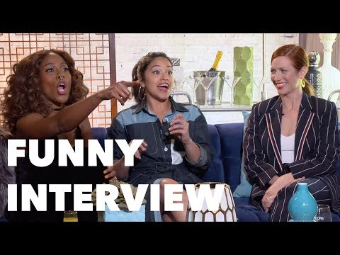 SOMEONE GREAT Funny Interview: Gina Rodriguez, Brittany Snow, DeWanda Wise