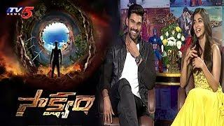 Bellamkonda Srinivas and Pooja Hegde Exclusive Interview about 'Saakshyam' Movie