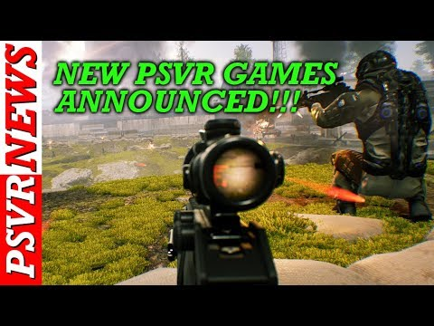 VERY GOOD PSVR NEWS!!! Quality NEW TACTICAL SHOOTER Announced For PSVR!!!