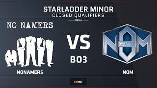 nonamer5 vs NOM | Map 2 – Mirage | Asia Minor MENA Closed Qualifier – StarLadder Major 2019