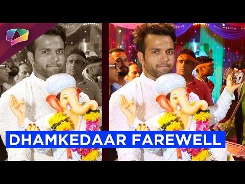 Rithvik Dhanjani and Super Dancer kids bid farewel