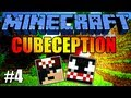 Minecraft: Cubeception #4 - Le Parkour no Escuro! =(