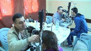يوم طبي مجاني للعيون لأهالي قرية النزلة الغربية