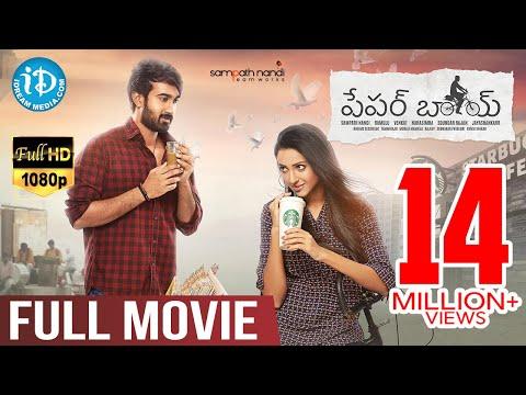 Paper Boy Telugu Full Movie | Sampath Nandi | Santosh Sobhan | Bithiri Sathi | iDream Telugu Movies