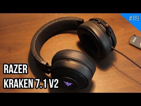 Tai nghe RAZER KRAKEN 7.1 V2: Bản nâng cấp đáng giá!