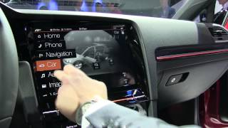 Download Lagu Volkswagen Golf R Touch - gesture control, touchscreen demo at CES 2015 Mp3