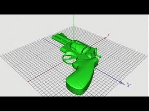 3D Printed Handgun Blueprints Seized by Government, Company Threatened by Feds