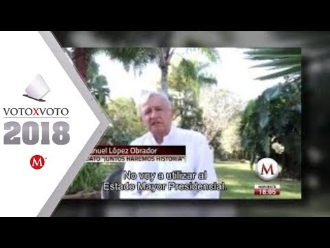 AMLO promete que no usará el Estado Mayor Presidencial