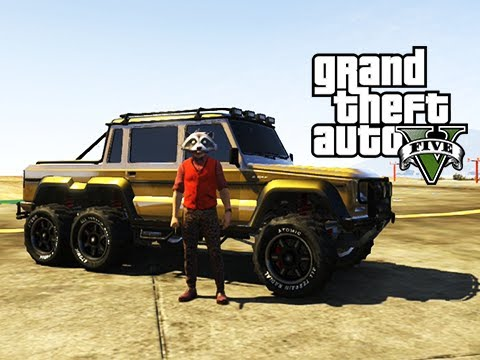GTA 5 Online The 'I'm Not a Hipster' Update DLC with Fully Customized Benefactor Dubsta 6x6