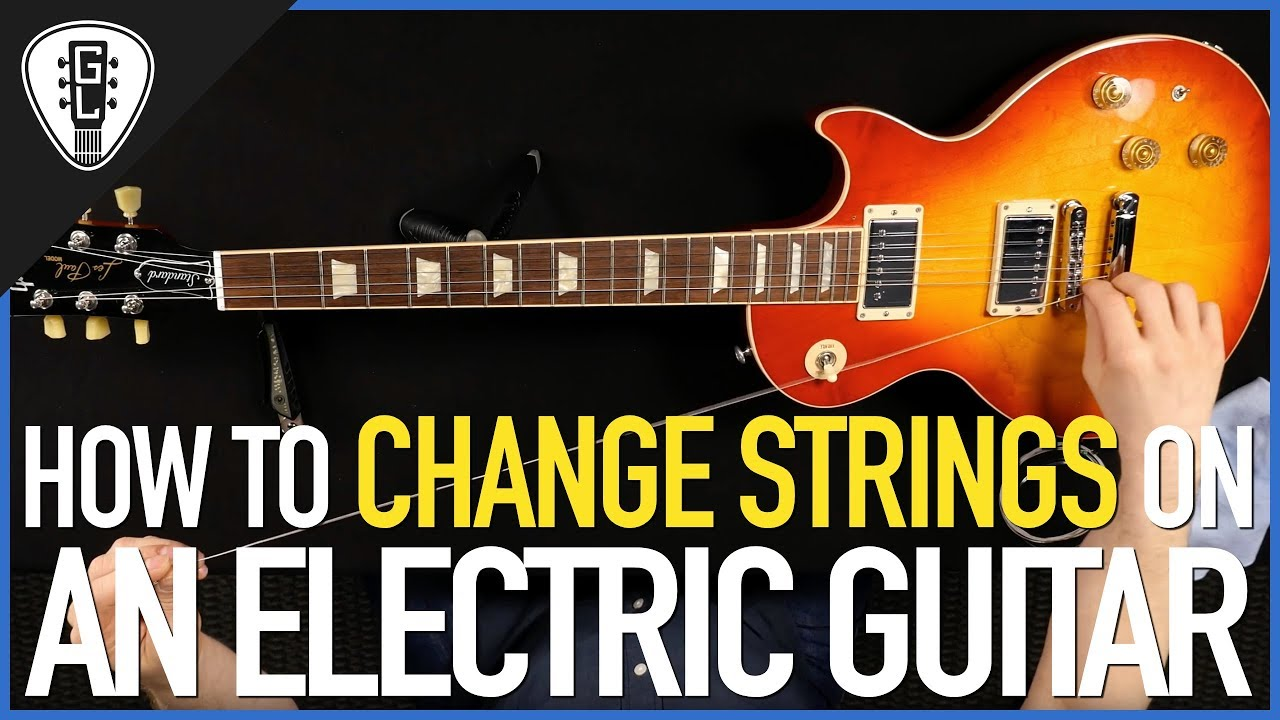 How To Change Strings On An Electric Guitar (All Types) – Guitar Lesson