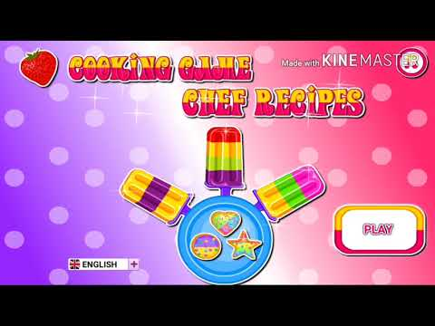 Cooking Game Chef Recipe (Making Cookie And Popsicle)