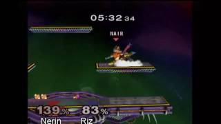 Last night, Riz(Falco), 8 months into the game upset one of Texas's top 10 Nerin(Fox) at a city local
