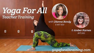Yoga For All - Creating body positive yoga classes for all shapes, sizes, and abilities