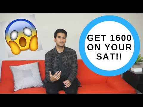 How to Score a 1600 on the SAT | Medbros