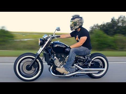 Honda Magna Bobber (видео)