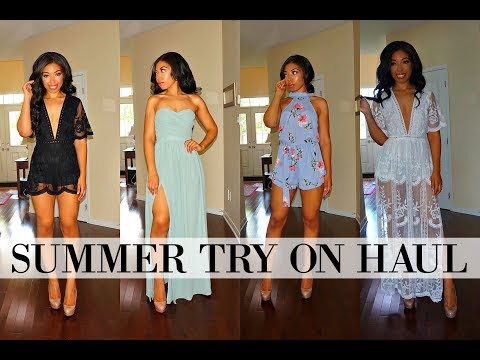 AFFORDABLE SUMMER CLOTHING HAUL & TRY ON FEAT. FASHION NOVA