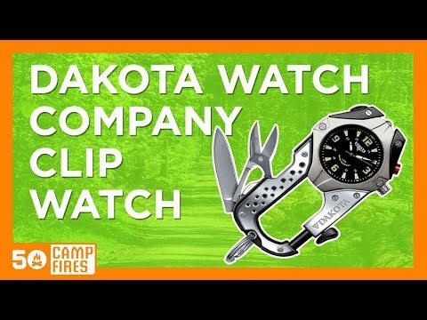 Camping Gear: Dakota Watch Company Knife Clip Watch - 50campfires