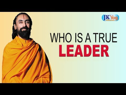 Leadership quotes - Who is a True Leader?  Servant Leadership  Swami Mukundananda IIM Speech
