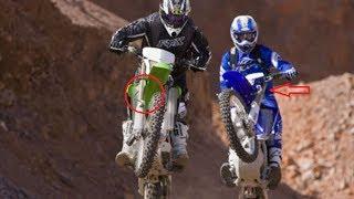 6. WATCH NOW !!! Kawasaki KLX450R vs Yamaha WR450F   COMPARISON TEST