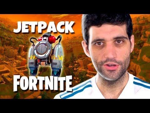 Jetpack em FORTNITE, MINI Nintendo 64 e Lego de OVERWATCH
