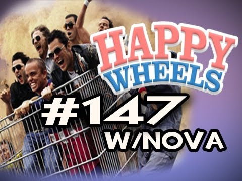 Happy Wheels w/Nova Ep.147 - JACKASS EDITION Video