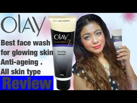 DIMPLE D'SOUZA - FACE WASH FOR GLOWING SKIN & ANTI AGEING. OLAY FACE WASH CHENNAI YOUTUBER