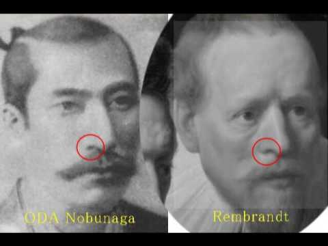 2349(6)Portrait of Nobunaga in Mystery謎の信長の肖像画・神々の操り人形in日本Puppet Artists in Japan byはやし浩司Hiroshi Hay