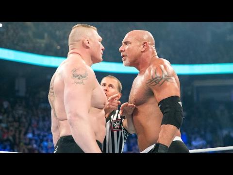 Video Goldberg responds to Brock Lesnar's WrestleMania challenge download in MP3, 3GP, MP4, WEBM, AVI, FLV February 2017
