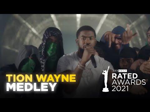 Tion Wayne Performs Epic Medley Of His Hits | Rated Awards 2021
