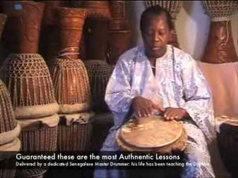 Djembe Drum Lessons with Master Drummer: Lamin Jassey