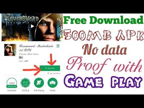 ravensword shadowlands apk data download
