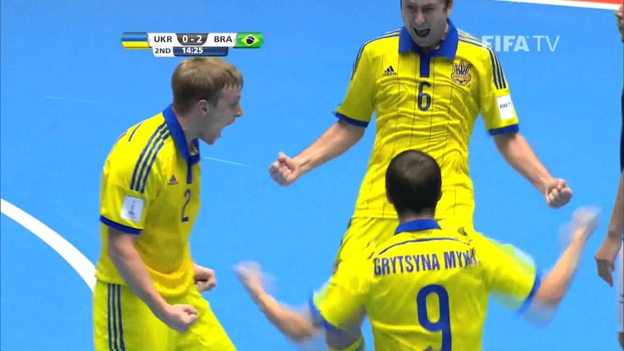 Match 7: Ukraine v Brazil – FIFA Futsal World Cup 2016