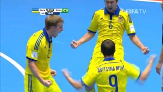 Video Match 7: Ukraine v Brazil - FIFA Futsal World Cup 2016 MP3, 3GP, MP4, WEBM, AVI, FLV Juli 2018