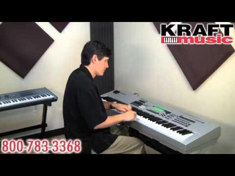 Kraft Music - Yamaha MO6 and MO8 Demo with Tony Escueta