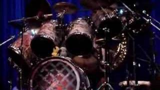 Nicko McBrain of Iron Maiden. Drum Solo at Drummer Live, forget which year, think it was either 2005 or 2006.