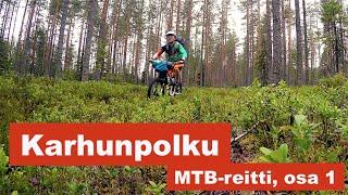Video Karhunpolku, MTB-reitti - osa 1 (Mountain biking on Karhunpolku trail, part 1) MP3, 3GP, MP4, WEBM, AVI, FLV Juni 2017