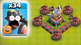 HEAL SPELLS WON'T SAVE YOU!!🔸MINER MADNESS!!🔸Clash Of Clans