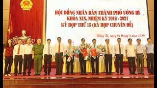 HĐND TP Uông Bí: Kiện toàn cán bộ chủ chốt