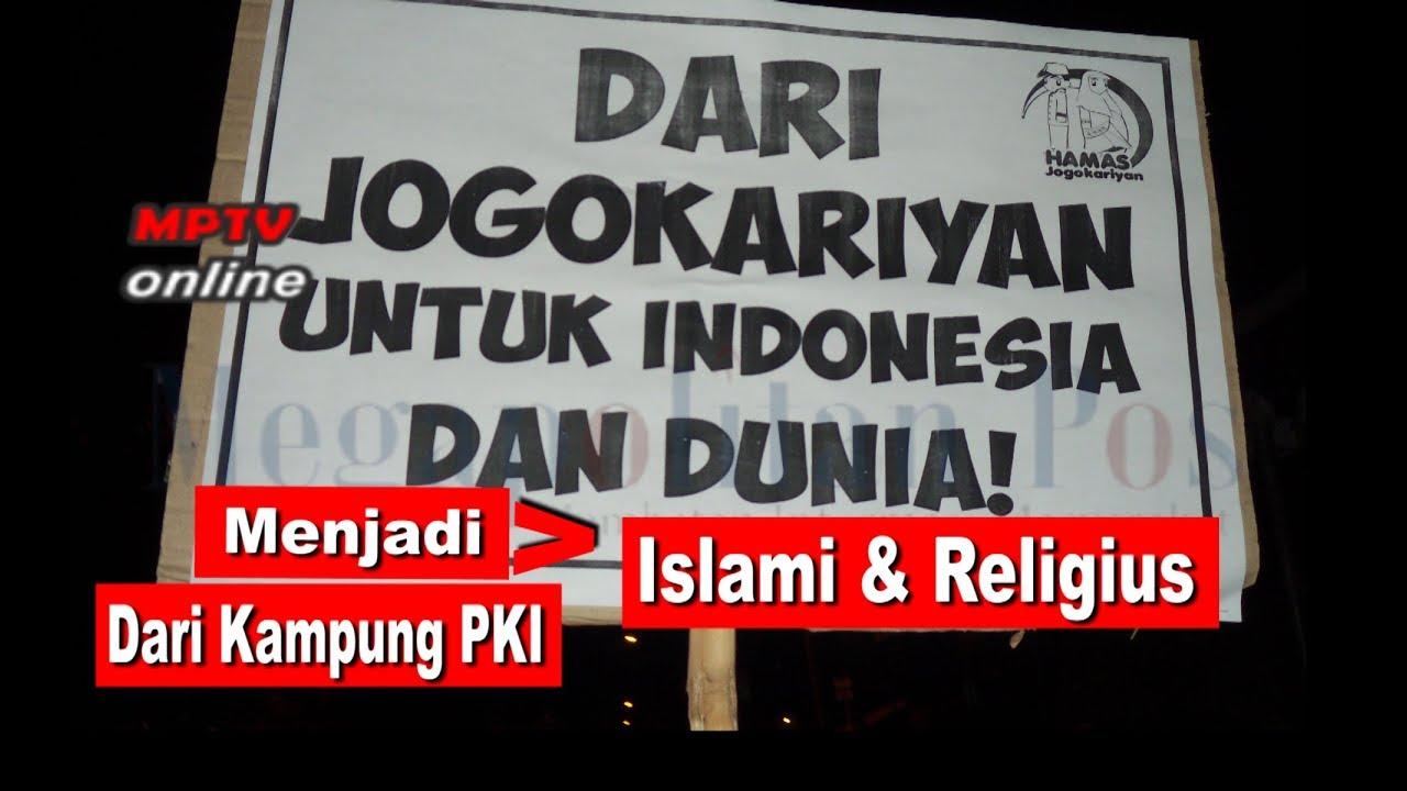 dulu kampung pki sekarang menjadi islami dan religius