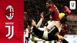Milan 1-1 Juventus | CR7 scores again as Juve rescue cup draw in Milan | Semi-finals | Coppa Italia
