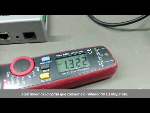 Demostración: voltaje de salida | Fuentes ALGcom