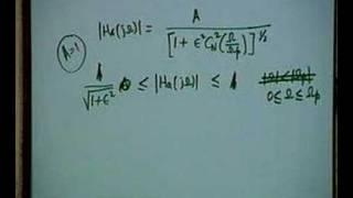 Lecture - 24 Analog Chebyshev LPF Design