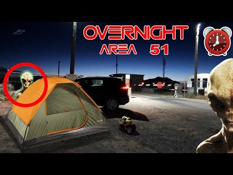 (ALMOST DIED) 24 HOUR OVERNIGHT in AREA 51 (ALIEN FOUND) | OVERNIGHT CHALLENGE in AREA 51 GONE WRONG (видео)