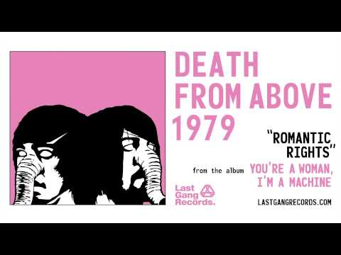 Tekst piosenki Death From Above 1979 - Romantic Rights po polsku
