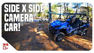 10. We made a Side x Side CAMERA CAR! | Kawasaki Teryx4 LE Off-Road Camera Car